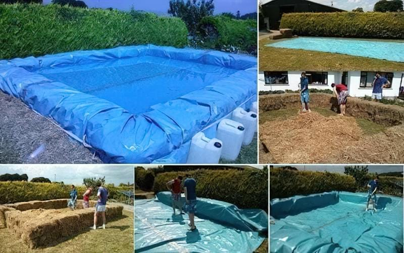 Зробити басейн на дачі — просто! Ідеї простих басейнів 9