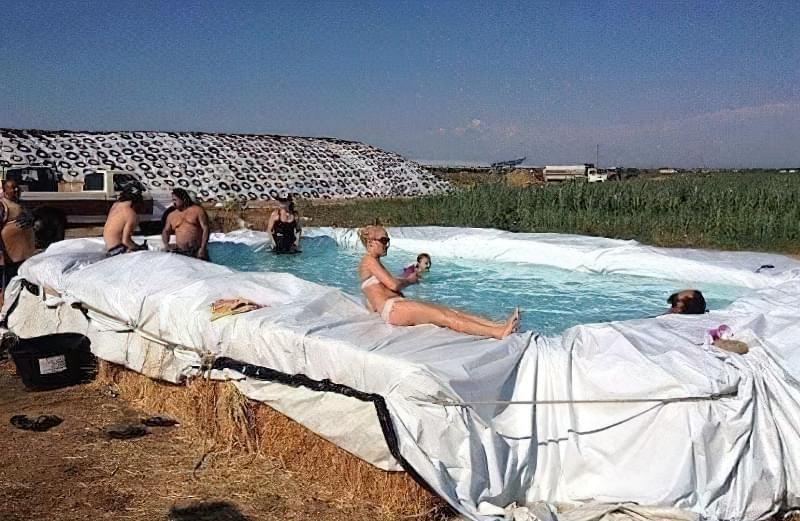 Зробити басейн на дачі — просто! Ідеї простих басейнів 10