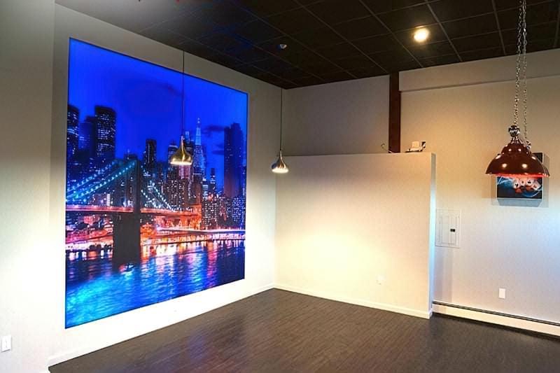 Натяжні стіни з фотодруком фото