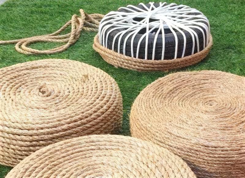 Робимо садові меблі із шин своїми руками