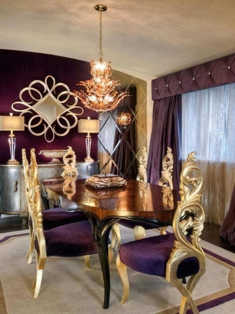 Стиль бароко в інтер'єрі квартири: 6 порад по створенню 11