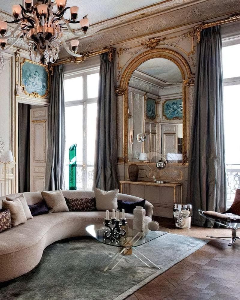 Стиль бароко в інтер'єрі квартири: 6 порад по створенню 2
