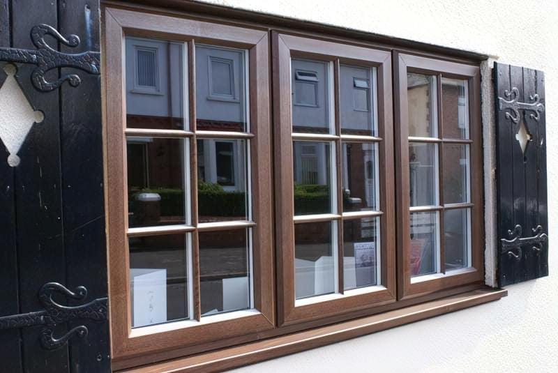 як виглядають вікна з шпросами фото