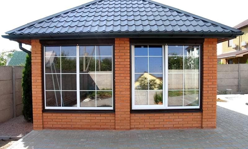 Вікна з шпросами фото