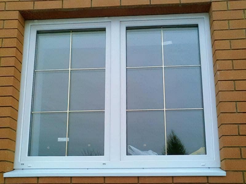 Вікна з шпросами: плюси і мінуси