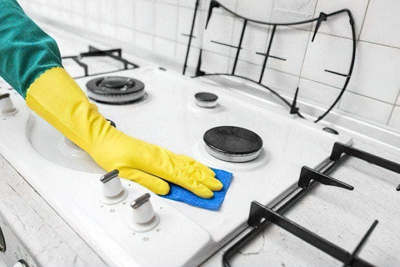 Як і чим очистити плиту від жиру і нагару в домашніх умовах 2