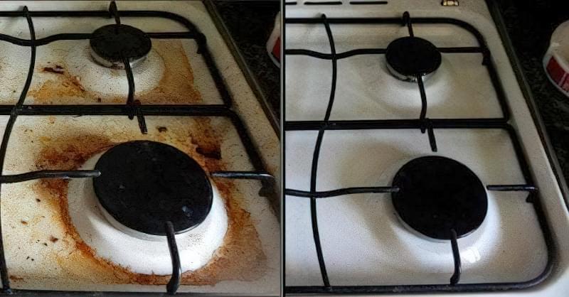 Як і чим очистити плиту від жиру і нагару в домашніх умовах 5