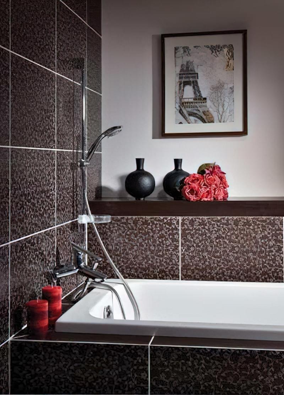 Японські нотки в оформленні ванної кімнати 2
