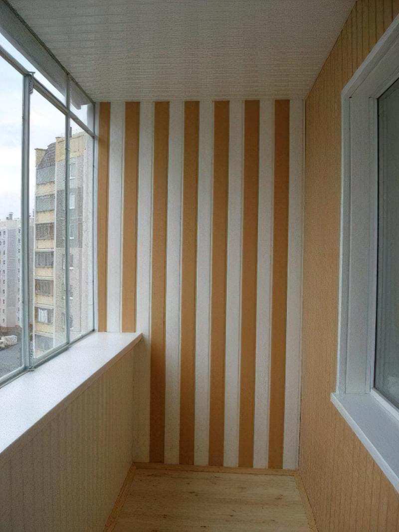 Панелі для стін на балкон фото