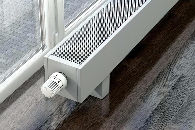 Механічна термостатична арматура конвектора