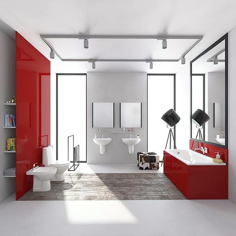 Японські нотки в оформленні ванної кімнати 1