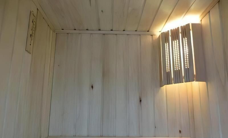 Сауна на балконі