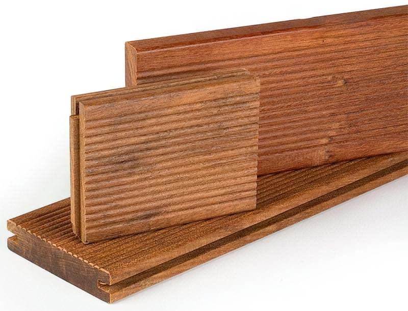 Терасна дошка з екзотичних порід деревини
