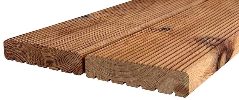Терасна дошка з термообробленої деревини