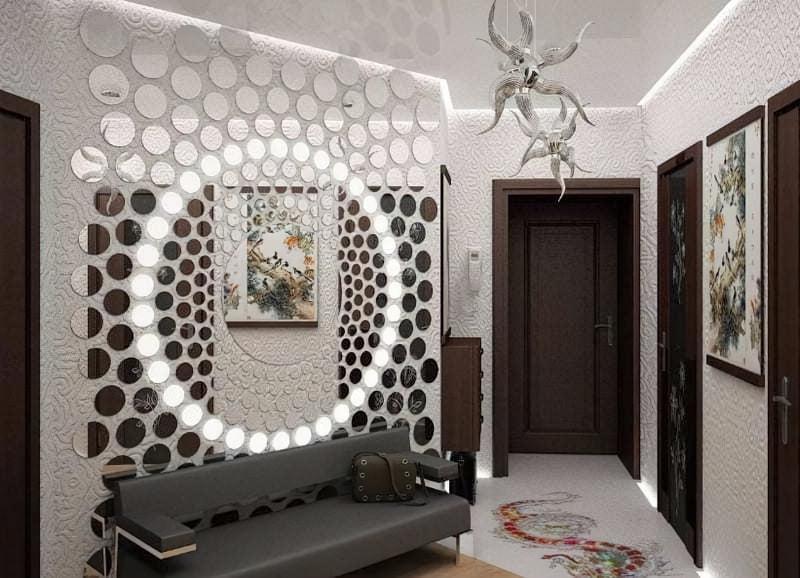 Дзеркальне панно на стіну: яке вибрати і як зробити 2