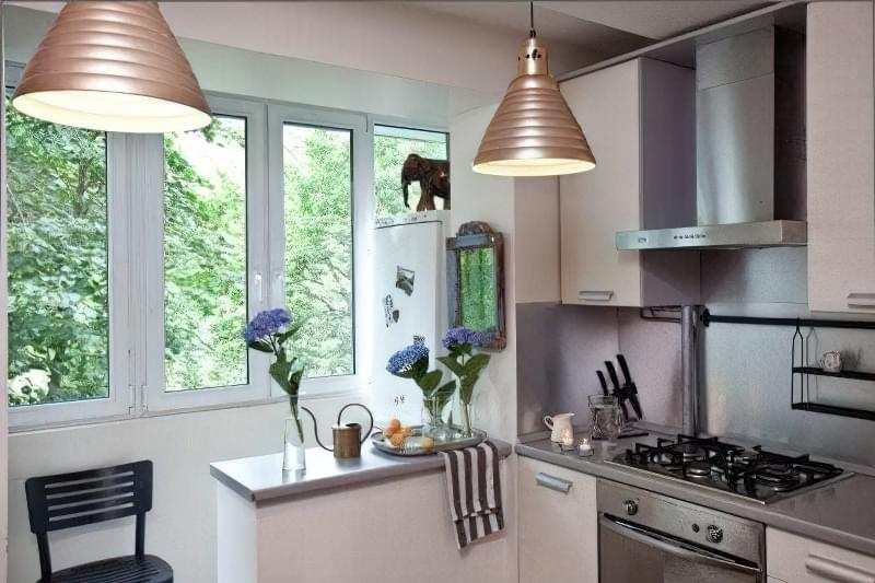 6 порад для ремонту в маленькій кухні 21