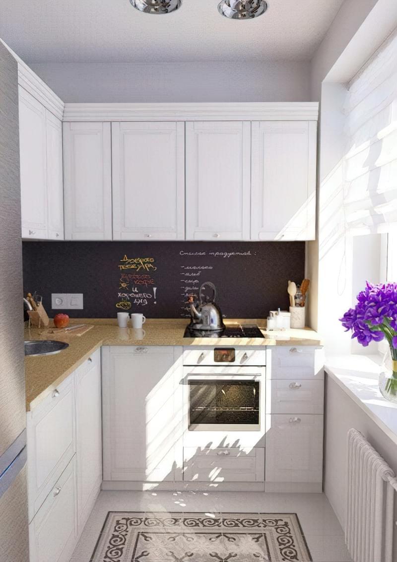 6 порад для ремонту в маленькій кухні 1
