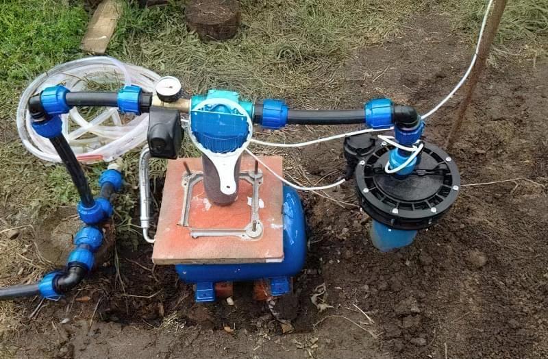 Автономне водопостачання приватного будинку: облаштування свердловини 9
