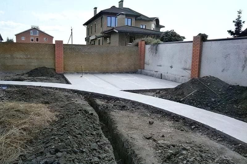 Бетонування двору приватного будинку і доріжок в саду: методи та матеріали 6
