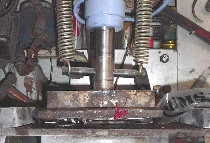 Ніж із сталевого троса