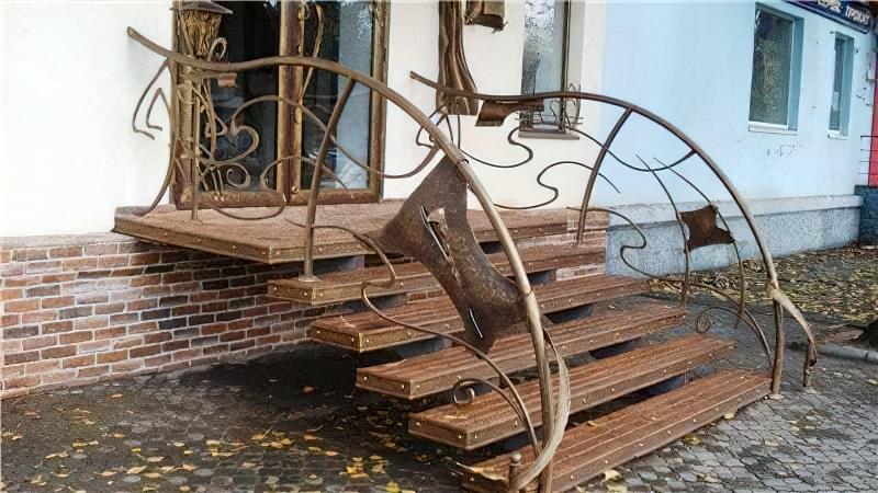 Як спорудити сходи на веранду: покрокове керівництво і фото готових конструкцій 2