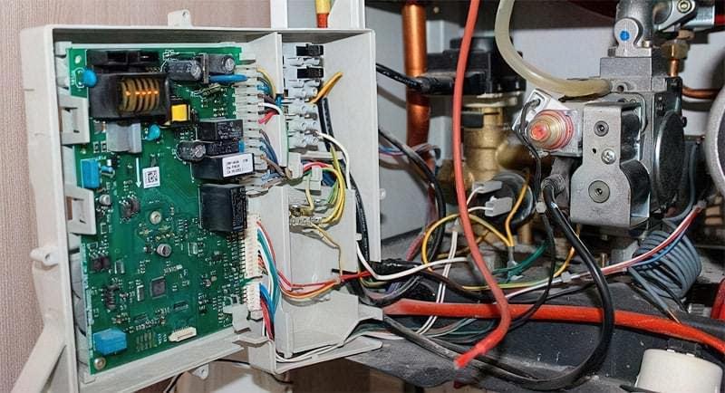 Електроніка газового котла опалення
