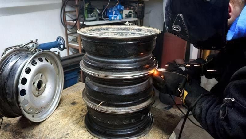 Печі і мангали з колісних дисків: класні ідеї для виготовлення своїми руками 2