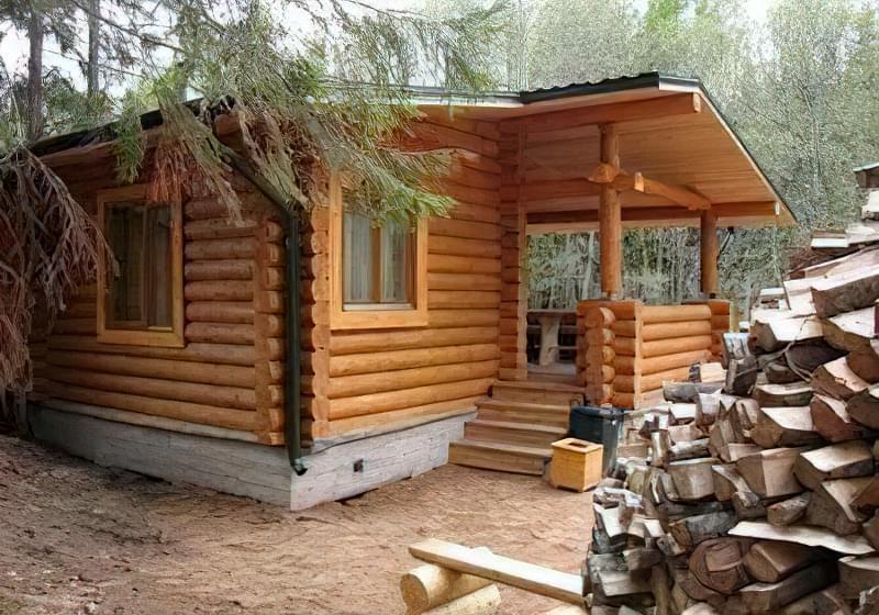Переваги дерев'яної лазні 1