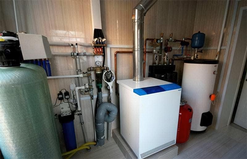 Додаткове обладнання для підлогового газового котла