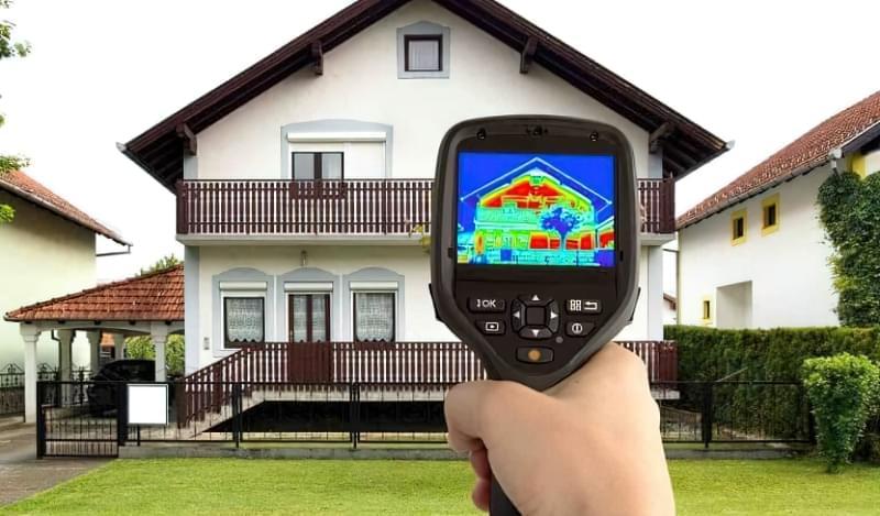 Обстеження будинку тепловізором