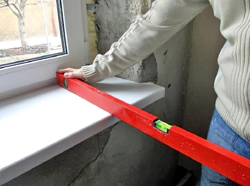 Інструкція по установці укосів і підвіконня на вікна ПВХ 2