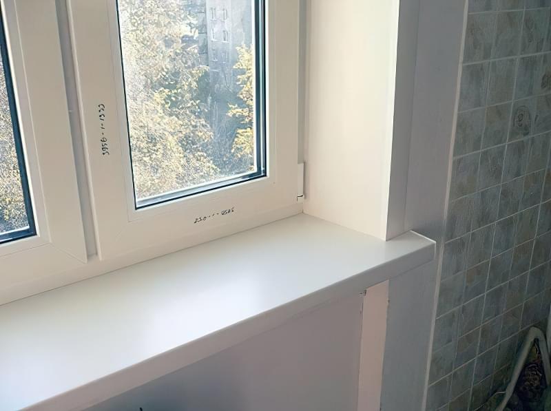 Інструкція по установці укосів і підвіконня на вікна ПВХ 3