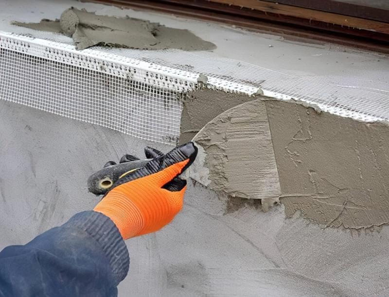 Інструкція по установці укосів і підвіконня на вікна ПВХ 4