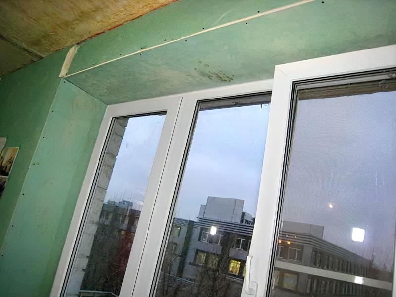 Інструкція по установці укосів і підвіконня на вікна ПВХ 7