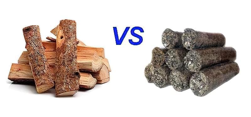 Порівняння паливних брикет з дровами – практичний досвід 1
