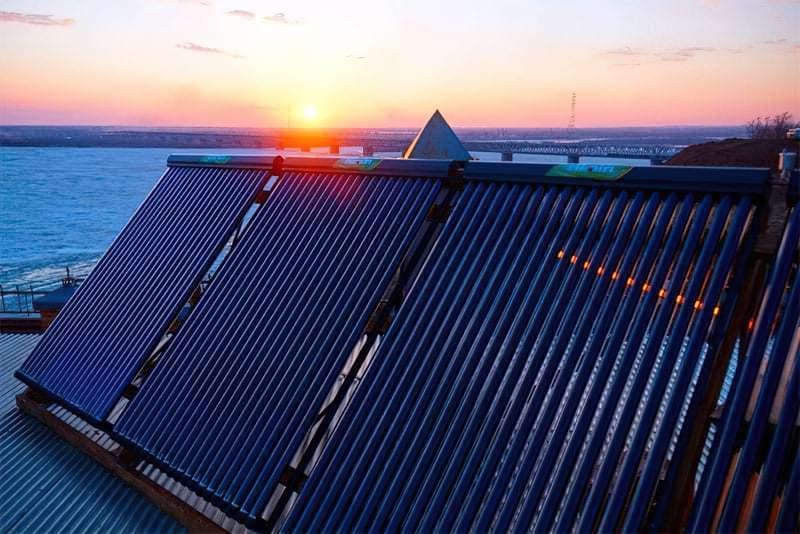 Сонячні колектори: види, принцип роботи, влаштування системи 2