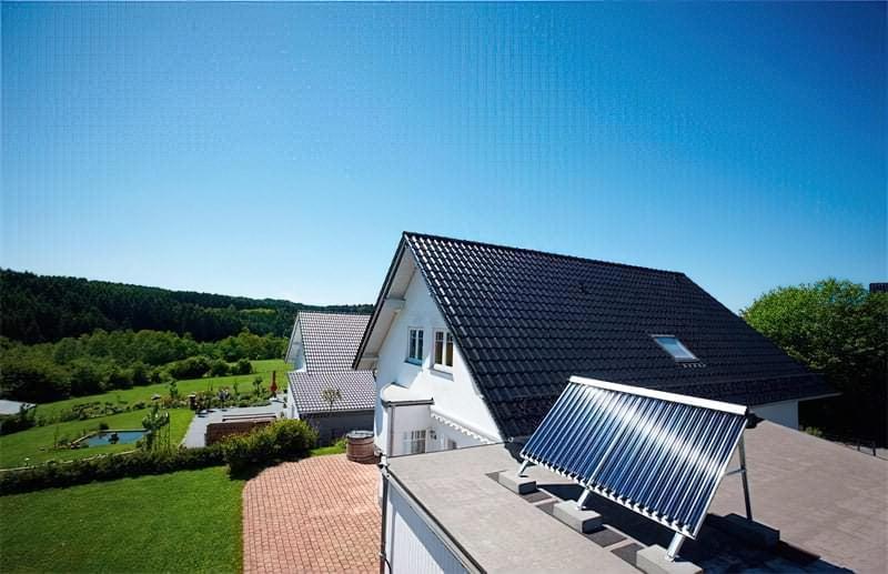 Розташування сонячного колектора