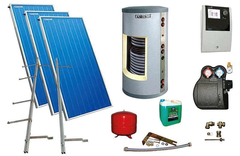 Сонячні колектори: види, принцип роботи, влаштування системи 3