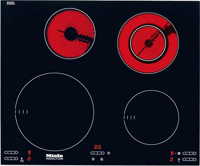 Комбінована варильна панель - індукція і Hi-Light
