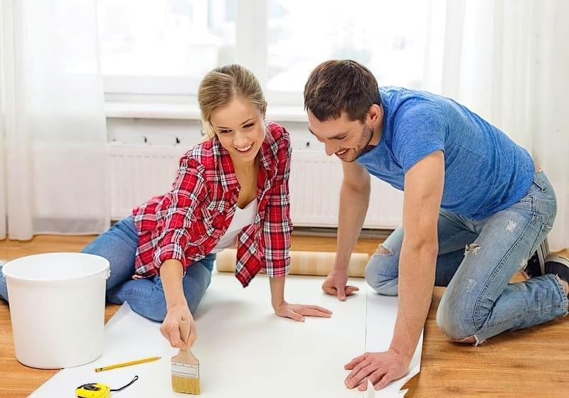 Як клеїти шпалери під фарбування: особливості вибору, підготовка, покрокова технологія процесу (фото) 5
