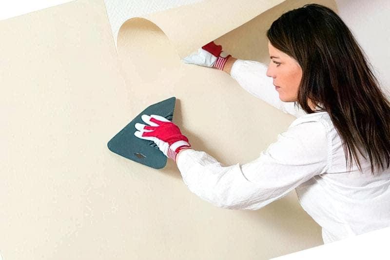 Як клеїти шпалери під фарбування: особливості вибору, підготовка, покрокова технологія процесу (фото) 8