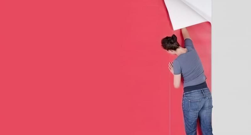 Як клеїти шпалери під фарбування: особливості вибору, підготовка, покрокова технологія процесу (фото) 10