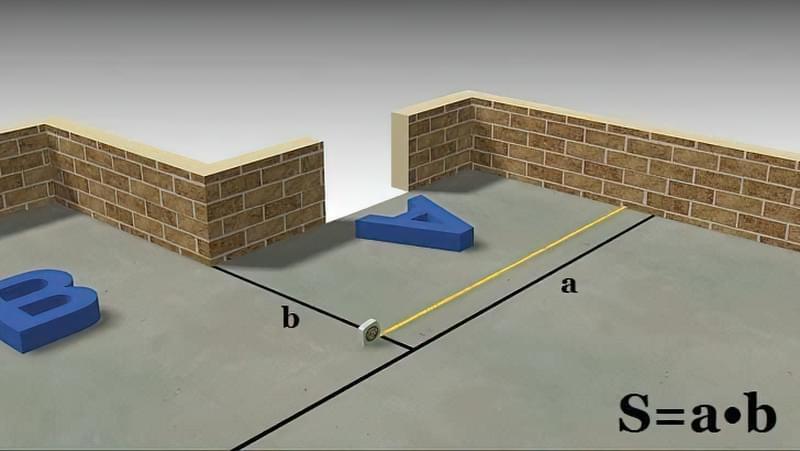 як виміряти площу кімнати