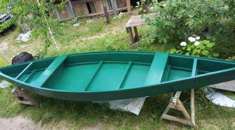 Як зробити дерев'яний човен-плоскодонку: креслення 1