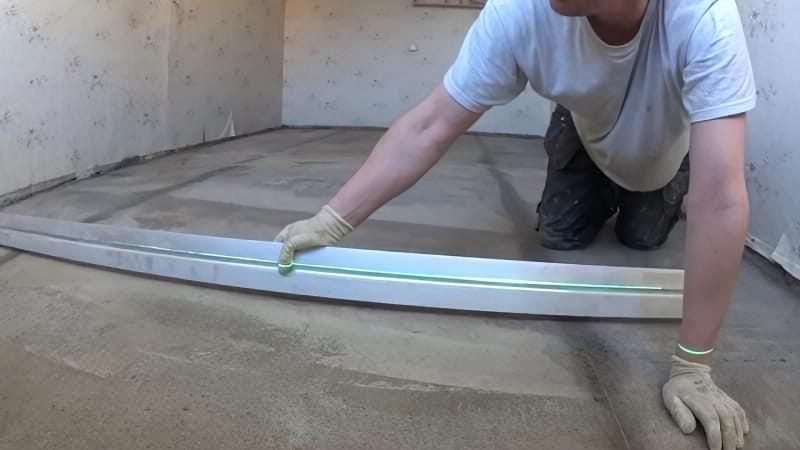 Як зробити стяжку підлоги у себе вдома — рекомендації та інструкції 4