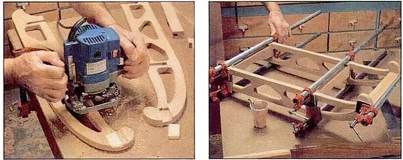Дерев'яні санки своїми руками, інструкція