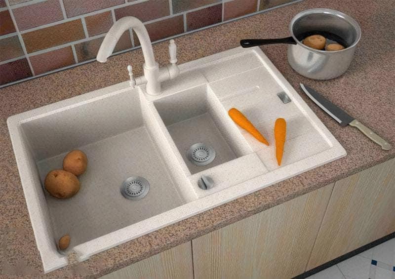 Вибираємо і встановлюємо сифон для подвійної мийки 1