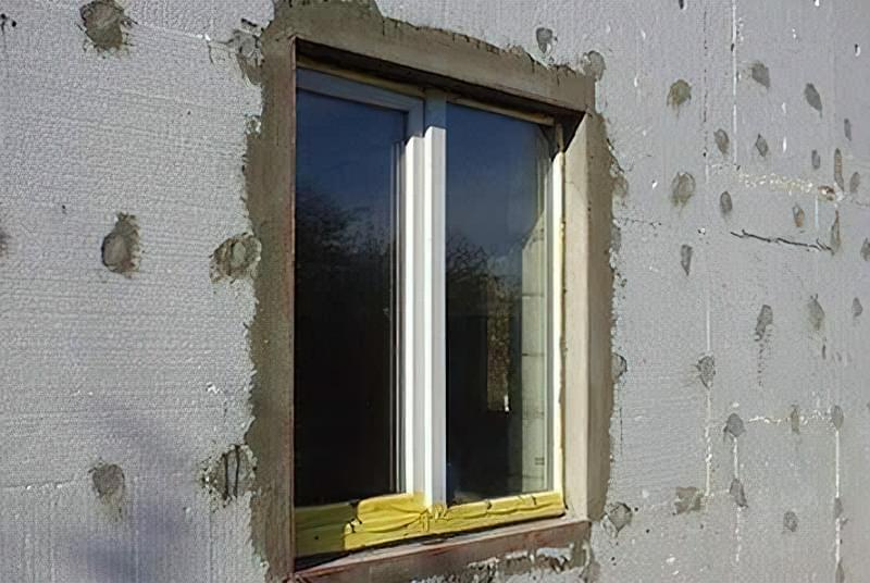 Як приклеїти пінопласт до стіни 1