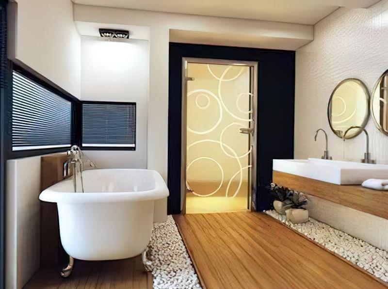Двері для ванної: огляд варіантів та рекомендації по вибору 1