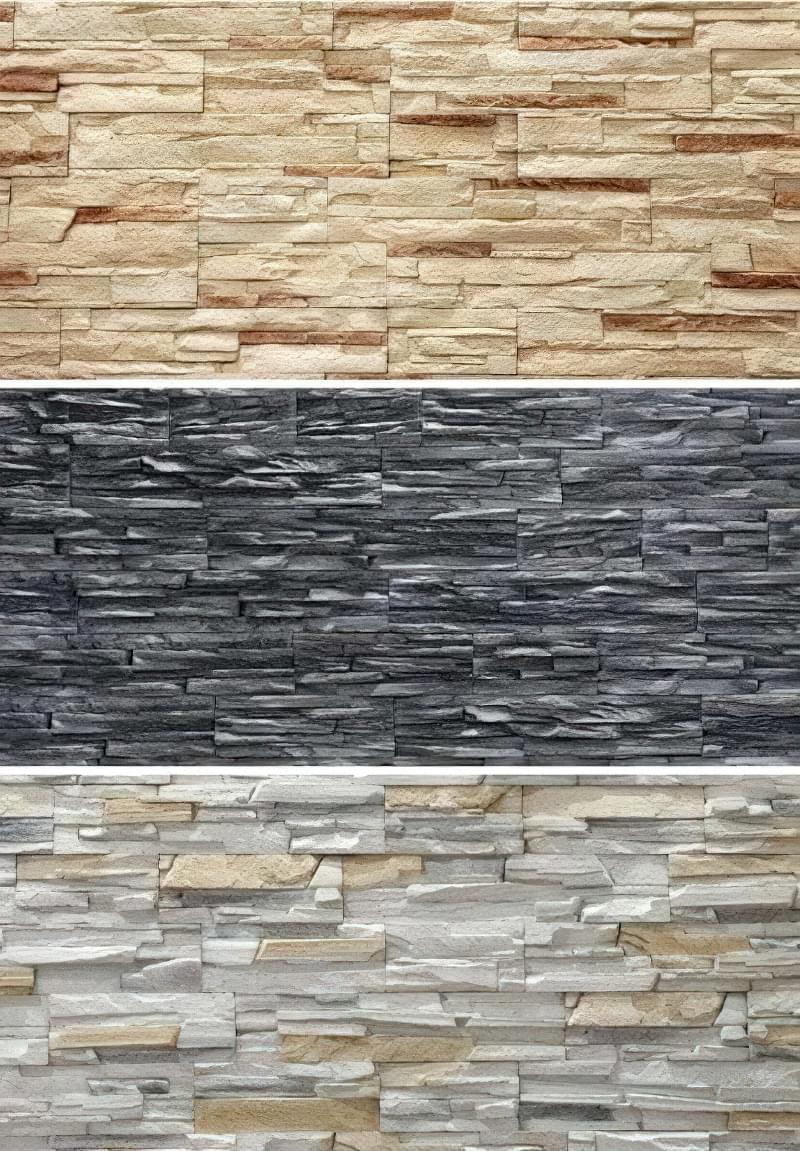 Насичений яскравий колір і багата фактура фасадного каменю завоювала величезну популярність серед цінителів оригінальних інтер'єрів